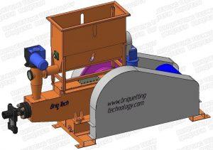 presa brichetat mecanica BT-065-500 paie