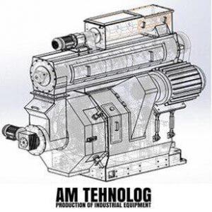 presa peleti motor v